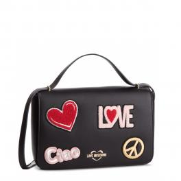 Love Moschino Crossbody bag Patches - 1
