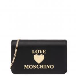 Love Moschino Clutch Padded Heart Nero - 1