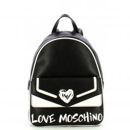 Love Moschino Zaino Nero Bianco - 1