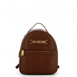 Love Moschino Zaino Furry Scarf Marrone - 1