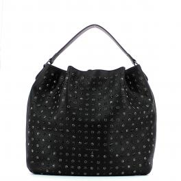 Shoulderbag with studs