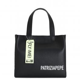 Patrizia Pepe Shopper Media con logo - 1
