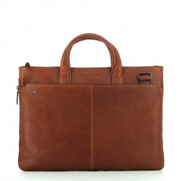 Exp. Slim Briefcase Blue Square 15.6-CUOIO-UN
