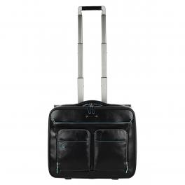 Piquadro Trolley Porta PC Blue Square 15.6 - 1
