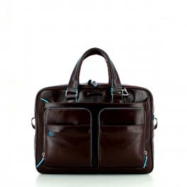 Blue Square Laptop Briefcase