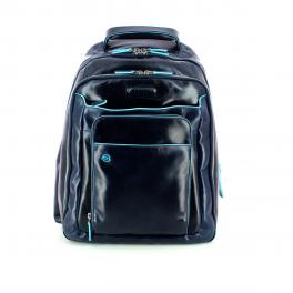 Blue Square Backpack