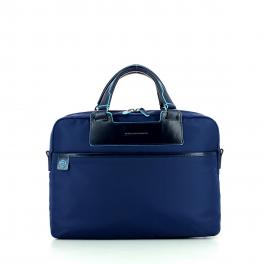 Briefcase with laptop compartment exp. Celion 15.0-BLU-UN