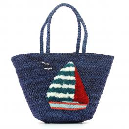 Shopper Ischia-BLUE-UN