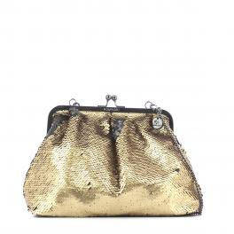 Clutch Anastasia with paillettes-GOLD-UN