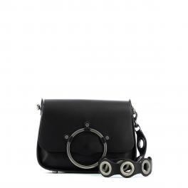 Ring Shoulder Bag-NERO-UN