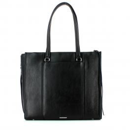 Always On Side Zip Regan Tote-BLACK-UN