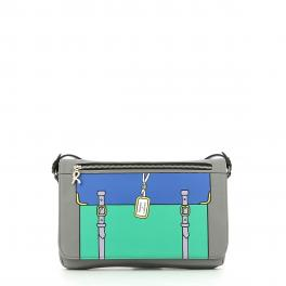 Crossbody Pochette Grafic-GREY-UN