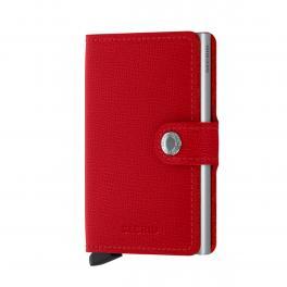 SCRD Miniwallet Crisple RFID Red - 1