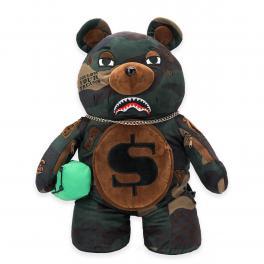 Sprayground Zaino Teddy Bear Checks and Camo - 1