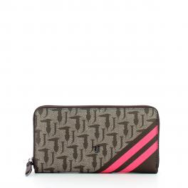 Wallet Vaniglia Zip Around - 1