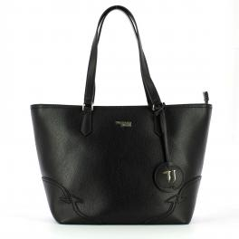 Trussardi Jeans Tote Bag Deco Edge Medium - 1