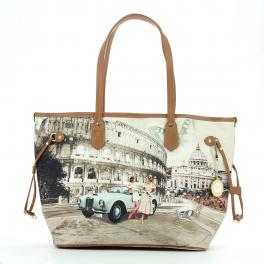 Shopping Bag M Yesbag-LIFE/IN/ROME-UN