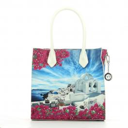 Shopping Bag M Yesbag-WHITE/PARTY-UN