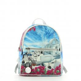 Backpack L Yesbag-WHITE/PARTY-UN